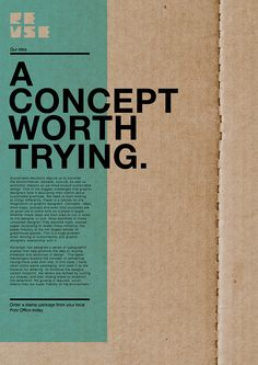 Sustainable Graphic Design on Behance