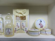 Jemima Puddle-Duck toiletries for dollhouse baby