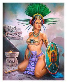 Princesa Azteca - Benjamín Orozco Méndez