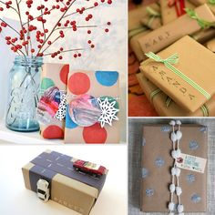 cool ways to wrap gifts | Cute Christmas Gift Wrap Ideas Cute Christmas Gift Wrap Ideas