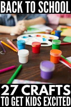244 Best Back To School Crafts for Kids images in 2019