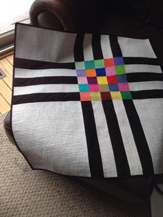Quilt by Sherri Lasky...would be pretty for the front or the back...