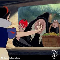 Ideas for iphone wallpaper disney princess wallpapers snow white Humor Disney, Funny Disney Memes, Cartoon Memes, Funny Memes, Funny Cartoons, Funny Art, Meme Meme, Memes Humor, Cartoon Art