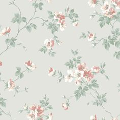 The wallpaper Kristina - from Duro is a wallpaper with the dimensions x m. The wallpaper Kristina - belongs to the popular wallpaper col Wallpaper Stores, Old Wallpaper, Wallpaper Paste, Wallpaper Samples, Easy Up, Floral Wallpaper Iphone, Scandinavian Wallpaper, Drops Patterns, Pastel