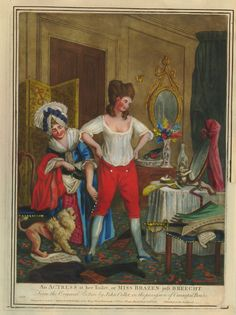 Mrs. Robinson was known to don breeches. Her compeers Dorothea Jordan, Anne Oldfield, and Charlotte Charke likewise shimmied out of stays prior to treading across the boards, and they did so with …