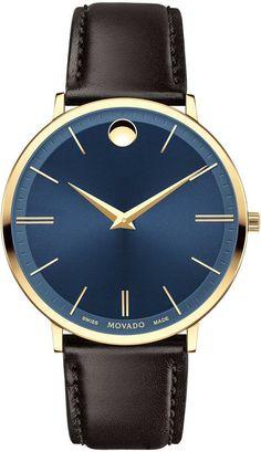 3e44d7e5b3ae9 Movado Watch Ultra Slim  add-content  bezel-fixed  bracelet-strap
