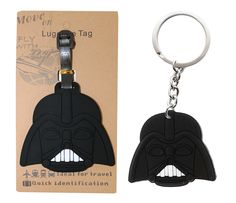 AmebaConcept Star Wars Darth Vader Force Luggage Tags Travel Tag Anakin Keychain Toy >>> New and awesome product awaits you, Read it now  : Valentine Gifts