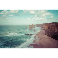 12 Apostles Great Ocean Road Australia #greatoceanroad #australia #landscape #visitvictoria #visitmelbourne #landscapephotography #photography #beach #nature #ocean #waves #twelveapostles by bobstar