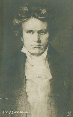 Beethoven vom Maler Fritz Rumpf, Verlag Georg Gerlach & Co. Berlin