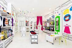 Piccino children fashion store by Quespacio Valencia