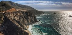 Califórnia oferece viagem estradeira entre montanhas e praias paradisíacas