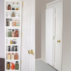 Cabidor Classic Storage Cabinet. I love this for the master bed or bath