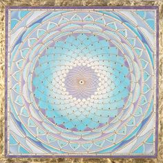 Crown Chakra Mandala