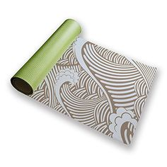 Take a Look: Uneekee Mocha Wave Yoga Mat