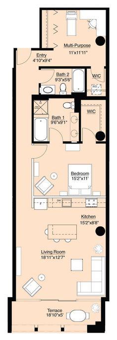 Image result for shotgun house plans