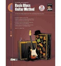 Basic Blues Guitar Method, Bk A Step-By-Step Approach for Learning How to Play, Book & CD (Paperback) - Common Computer Programming Books, Blues, Guitar, Play, Learning, Studying, Teaching, Guitars, Onderwijs