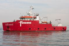 FUGRO FRONTIER inbound at Flushing outerharbour @fugro