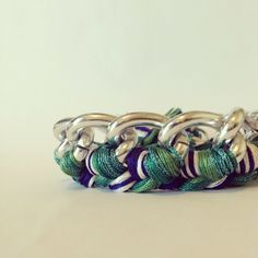 Custom order from 2 weeks ago. I heart the minty/turquoise sparkle.