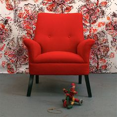 Image of Child's Vintage Armchair