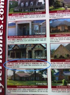 This ad that's starting to get desperate. | 24 Real Estate Ads That Totally Nailed It