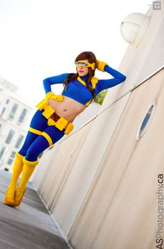 A Wonderfully Done Gender-Bent Cyclops [Cosplay]
