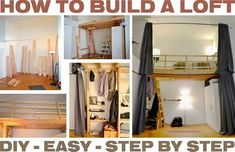 How To Build A Loft – DIY Step By Step With Pictures: