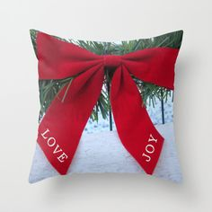 Pillow Cover Love Joy Home Decoration by BacktoBasicsPillows