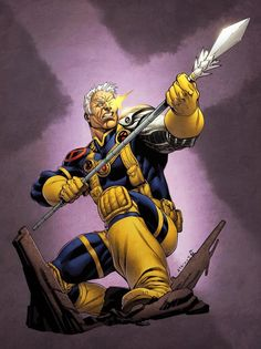 Cable from my Sept. event X-Men Month, where I did daily sketches of various X Characters. Simon Gough, my British Partner in Crime, has been working hi. X-Men Month Cable Colors SOTD Marvel Comic Character, Comic Book Characters, Marvel Characters, Comic Books Art, Comic Art, Cosplay Characters, Book Art, Cable Marvel, Marvel Dc Comics