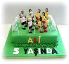 Football concept Birthday Cake