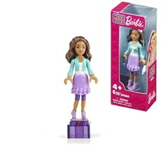 Mega Bloks: Barbie - On-the-Go Nikki® - 80265 - PlayZone.be, LEGO, Mega Bloks, Playmobil, Sluban Online Shop
