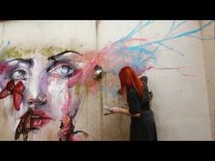"""'About a New Place"""" by Agnes Cecile  Prints available at EyesOnWalls.com: http://www.eyesonwalls.com/collections/agnes-cecile"""