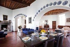 Anguillara Sabazia house rental - Elegant Bright Living Room