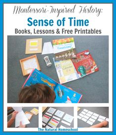 In this post, you will see how I introduced my children to a Montessori-Inspired History unit on the sense of time and what activities we did. We have free printables for you, too.