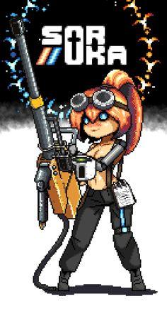 Warfare, Pixel Art, Fictional Characters, Art, Fantasy Characters