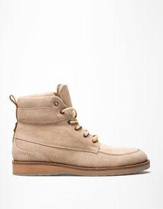 Bershka Tunisia - SUEDE urban boots