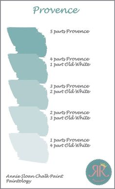 Find out what colour combinations you can make with Annie Sloan Chalk Paint. We kick off the serie. Cores Annie Sloan, Annie Sloan Colores, Couleurs Annie Sloan, Annie Sloan Paints, Annie Sloan Chalk Paint Colors, Blue Chalk Paint, White Chalk, Annie Sloan Painted Furniture, Painted Bedroom Furniture