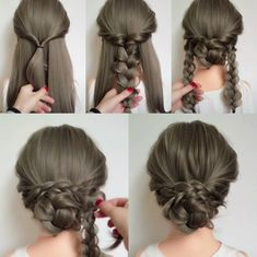 Frisur Prinzessin Hochsteckfrisur - (notitle) Frisur Prinzessin Hochsteckfrisur The post Frisur Prinzessin Hochsteckfrisur - appeared first on Frisuren Bob. Princess Hairstyles, Up Hairstyles, Pretty Hairstyles, Braided Hairstyles, Wedding Hairstyles, Princess Updo, Wedding Updo, Princess Wedding, Hairstyle Ideas