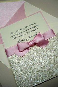 wedding gold embossed paper wrap elegant handmade invitations