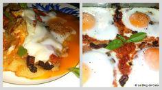 Le blog de Cata: Gratin de polenta à la sauce Arrabiata