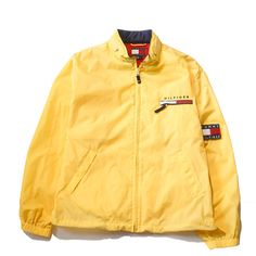 Tommy Hilfiger Windbreaker XL Perennial Merchants (3.870 RUB) ❤ liked on Polyvore featuring jackets en outerwear