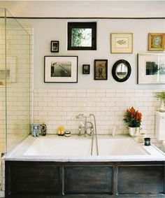 Subway Tile In The Bathroom / Apartment Therapy DC
