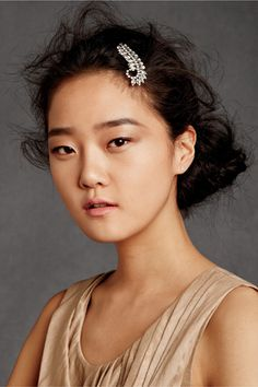 Anti-Precious Style Tips For The Alt Bride #refinery29  http://www.refinery29.com/wedding-ideas#slide2  Embrace Bedhead — So, you're the kind of girl who doesn't own a comb...why would you get a blowout for your wedding then? There's nothing that looks quite as jarring as a bride who completely overhauled her beauty look for the big day, so opt for an updo that's as wild as you are (and if you're scared your grandma's going to say something, clip one of her heirloom brooches onto your ...