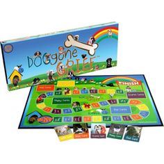 DOGGONE GRIEF BOARD GAME (Grades: PreK - 6 Ages: 3-12) Helps Grieving Children Express Their Feelings! This unique children's grief game was developed by the director of Grief Services at Aultman Hospital. It was designed to help children share their feelings about a special person who has died. Communication is the first step to healing.