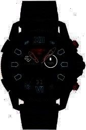 Herrenuhrendiesel Touchscreen Blackdiesel Watchguard Blackmens Strapfull Silicone Powered Reviews Jewelry Guard25 Wa Black Diesel Diesel Men Diesel