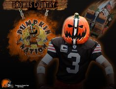 Project I did for Pumpkin Nation! Cleveland Browns Backers.