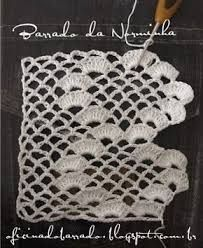 Thin End Lace Models, # bed sheet edge lace models # lace samples . - Knitting a love Crochet Boarders, Crochet Edging Patterns, Crochet Lace Edging, Love Crochet, Stitch Patterns, Knit Crochet, Filet Crochet, Magazine Crochet, Crochet Curtains