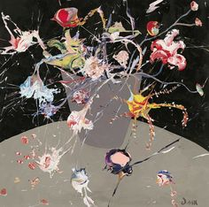John-Michael Metelerkamp, The Pink Lady's Delusion 2018 Pink Ladies, It Works, Artist, Painting, Painting Art, Pink Lady, Paintings, Nailed It, Amen