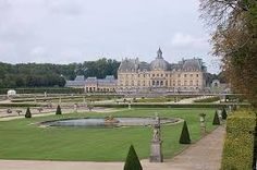 Château de Vaux-le-Vicomte, in the French countryside, 34 miles southeast of Paris near the town of Melun.