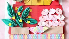  ひな祭りの折り紙【3月】簡単な雛飾りの折り方まとめ!五段並びも手作りできる! Quilling Paper Craft, Paper Crafts, Origami, March, Gift Wrapping, Gifts, Gift Wrapping Paper, Presents, Tissue Paper Crafts