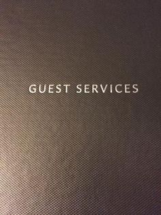 Guest services brochure, Hilton Boston Downtown / Faneuil Hall  |  89 Broad Street, Boston, MA 0